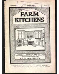Farm Kitchens, Document E37 by Fogle, F. E.