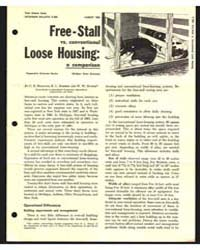 Free-stall Vs. Conventional Loose Housin... by C. R. Hoglund
