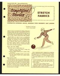 Stretch Fabrics, Cooperative Extension S... by Bernetta Kahabka