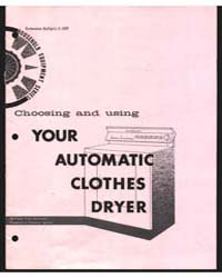 Choosing and Using Your Automatic Clothe... by Michigan State University