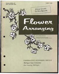 Flower Arranging, Document E410Print2 by J. Lee Taylor