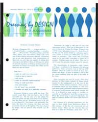 Dressing by Design Your Accessories, Doc... by Michigan State University