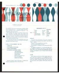 Fit for Fashion the A-b-c'S, Document E4... by Berntta Kahabka