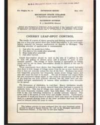 Michigan State College, Document E42 by Baldwin, R. J.