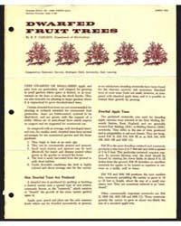 Dwarfed Fruit Trees, Document E432 by R. F. Carlson