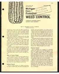 Michigan Corn Production , Document E438... by S. C. Hildebrand