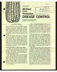 Michigan Corn Production , Document E440 by Nicky A. Smith