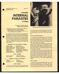 Controlling Internal Parasites of Sheep,... by Michigan State University