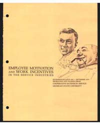 Employee Motivation and Work Incentives ... by Robert W. McIntosh