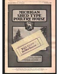 Michigan Shed Type Poultry House, Docume... by George A}'Iundson