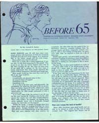 Before 65 Cooperative Extension Service ... by Mrs. Lennah K. Backus
