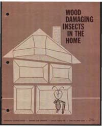 Wood Damaging Insects in the Home, Docum... by Donald C. Cress