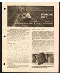 Sompling Soils, Document E498Rev1 by John C. Shickluna