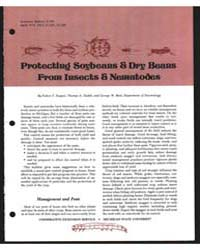 Protecting Soybeans & Dry Beans from Ins... by Ruppel, Robert F.