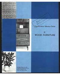 Wood Furniture, Iii, Document E504 by Michigan State University
