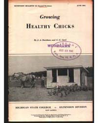 Growing Healthy Chicks, Document E52Rev2 by J. A. Davidson