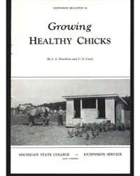 Growing Healthy Chicks, Document E52Rev2... by J. A. Davidson
