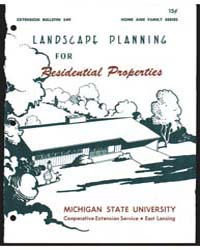 Landscape Planning for Residential Prope... by D. Newton Glick