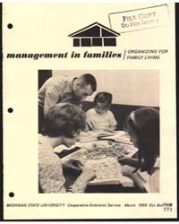Management in Families, Document E551 by Lucile Ketchum
