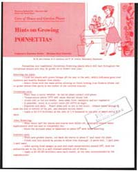 Care of House and Garden Plants, Documen... by M. Jane Coleman