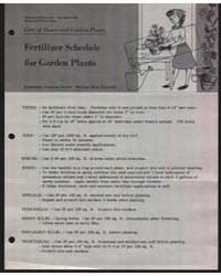 Care of House and Garden Plants, Documen... by Michigan State University
