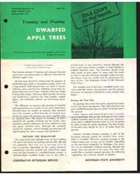 Training and Pruning Dwarfed Apple Trees... by Paul Larsen