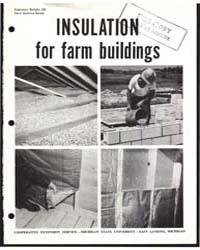 Insulation for Farm Building, Document E... by Edward Kazarian