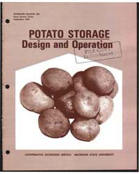 Potato Storage Design and Operation, Doc... by J. S. Boyd