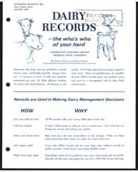 Dairy Records, Document E589 by Martin Wilson