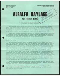 Alfalfa Haylage for Feedlot Cattle, Docu... by Hugh Henderson