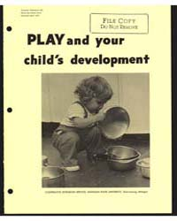 Play and Rour Child's Development, Docum... by Michigan State University