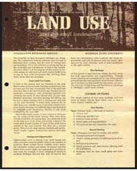 Land Use and the Small Landowner, Docume... by Michigan State University