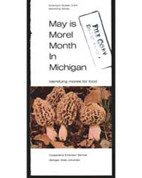 May is Morel Month in Michigan, Document... by Ingrid Bartelli