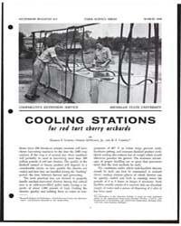 Cooling Stations Lor Red Tart Cherry Or,... by Harold P. Gaston