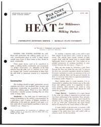 Heat for Milkhouses and Milking Parlors,... by Truman C. Surbrook