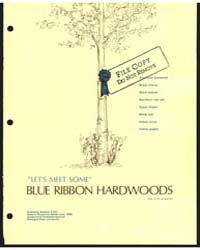 Let's Meet Some Blue Ribbon Trees, Docum... by Koelling, Melvin R.
