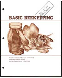 Basic Beekeeping, Document E625 by E. C. Martin