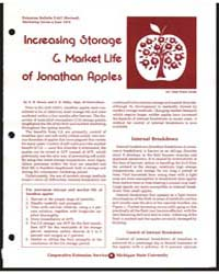 Increasing Storage & Market Life of Jona... by D. H. Dewey