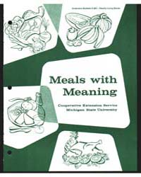 Meals with Meaning, Document E641Print9 by Dean, Anita