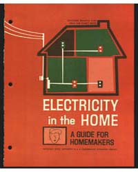 Electricity in the Home, Document E642 by Georgianne Baker