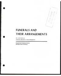 Funerals and Their Arrangements, Documen... by Lucile Ketchum