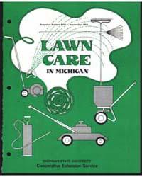 Lawn Care in Michigan, Document E646Rev2 by James B. Beard