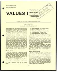 Values I, Document E647 by Margaret Jacobson