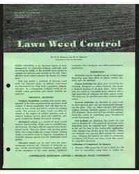 Lawn Weed Control, Document E653Rev2 by D. N. Duncan