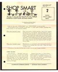 Shop Smart, Document E658B by Dean, Anita