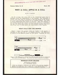 Why a Cull Apple is a Cull, Document E66 by H. P. Gaston