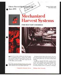 Mechanized Harvest Systems, Document E66... by Michigan State University