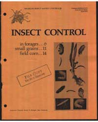 Insect Control in Forages, Document E672... by Ruppel, Robert F.
