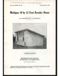 Michigan 10 by 12 Foot Brooder House, Do... by E. R. Hancock