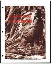 Managing Gamebirds, Document E692Rev1Pri... by Flegal, C. J.